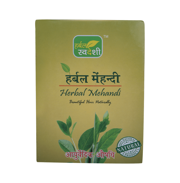 Herbal Swadeshi Herbal Mehandi Pack of 2