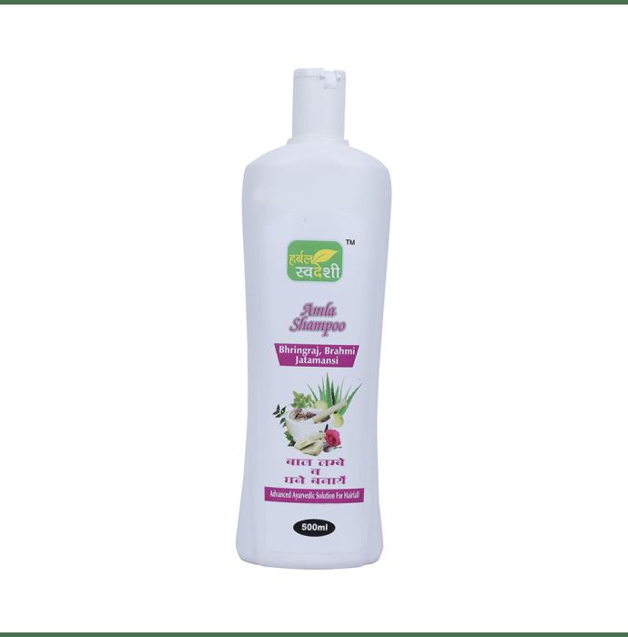 Herbal Swadeshi Amla Shampoo