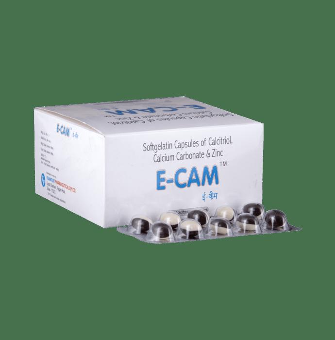 E-Cam Soft Gelatin Capsule