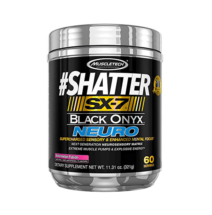 Muscletech Shatter SX-7 Black Onyx Neuro Watermelon Fusion