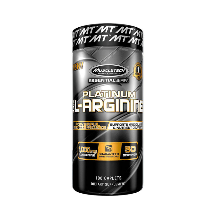 Muscletech Essential Series 100% Platinum L-Arginine 1000mg Caplet