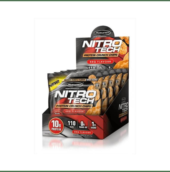 Muscletech Nitro Tech Protein Crunch Chips (25gm) BBQ