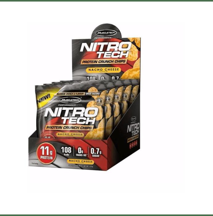 Muscletech Nitro Tech Protein Crunch Chips (25gm) Nacho Cheese