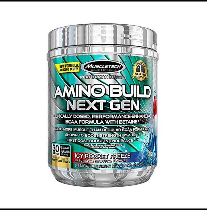 Muscletech Performance Series Amino Build Next Gen Icy Rocket Freeze