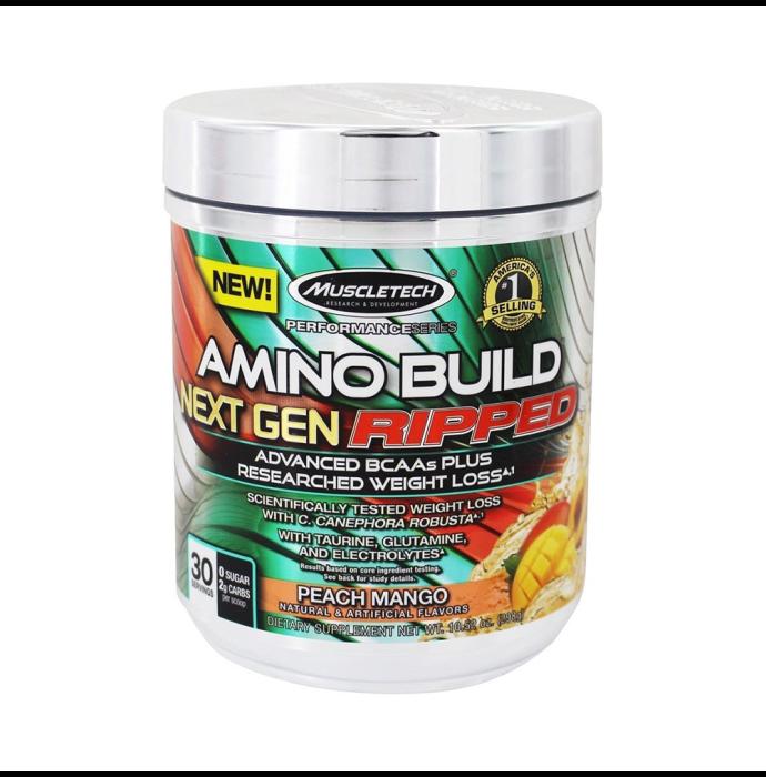 Muscletech Performance Series Amino Build Next Gen Ripped Peach Mango