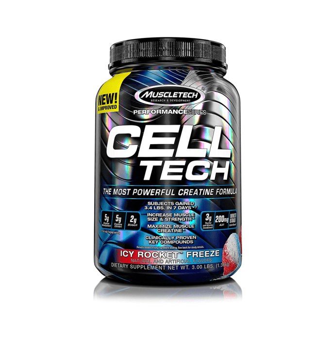 Muscletech Cell Tech Creatine Formula Icy Rocket Freeze