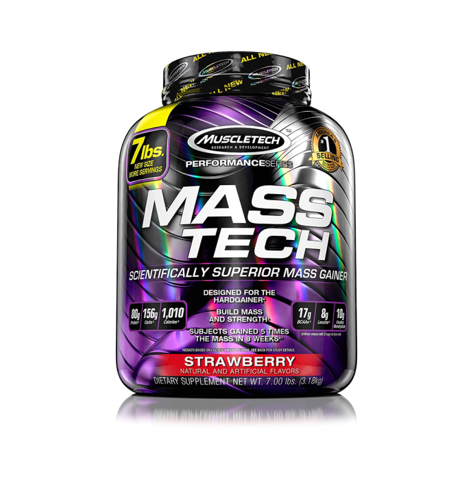 Muscletech Performance Series Mass Tech Strawberry