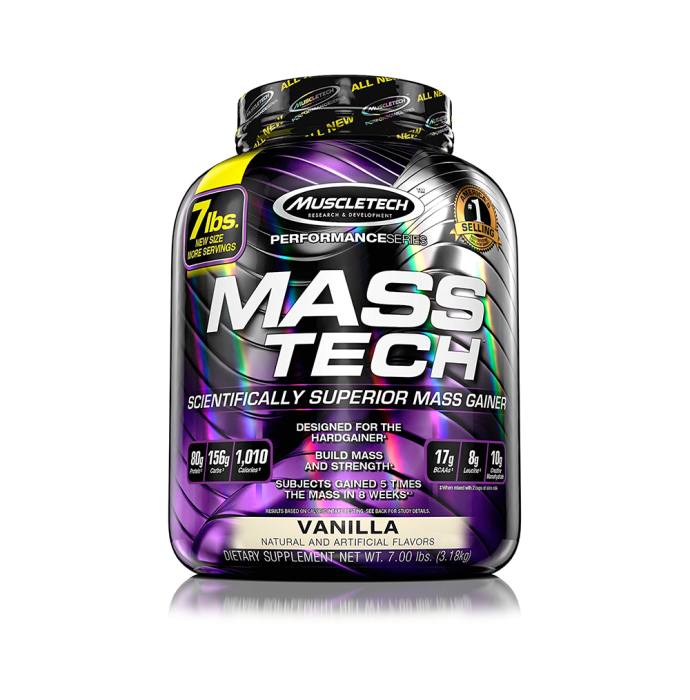 Muscletech Performance Series Mass Tech Vanilla