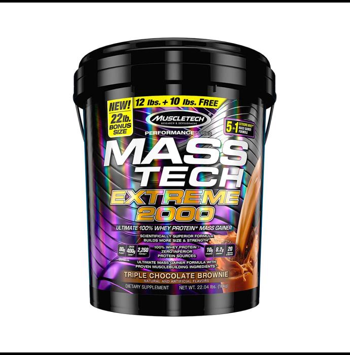 Muscletech Performance Series Mass Tech Extreme 2000 Triple Chocolate Brownie