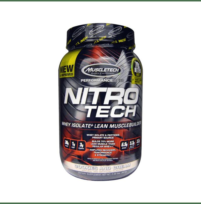 Muscletech Performance Series Nitro Tech Cookies & Cream