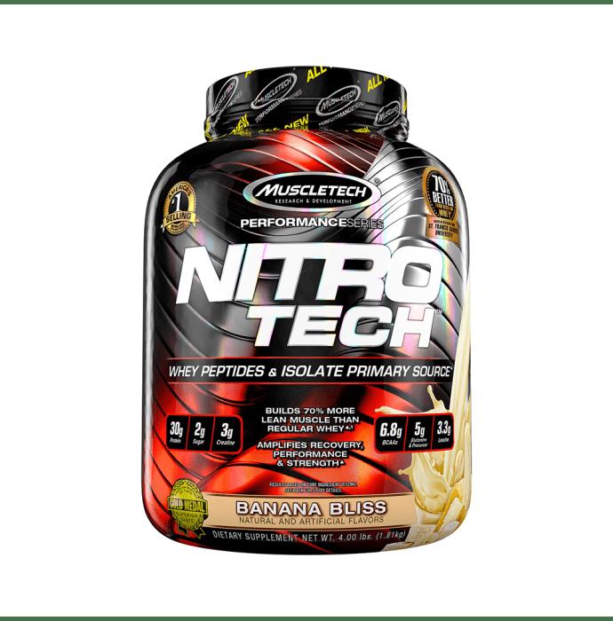 Muscletech Performance Series Nitro Tech Banana Bliss