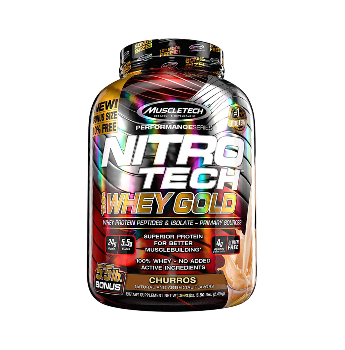 Muscletech Performance Series Nitro Tech Whey Gold Churros