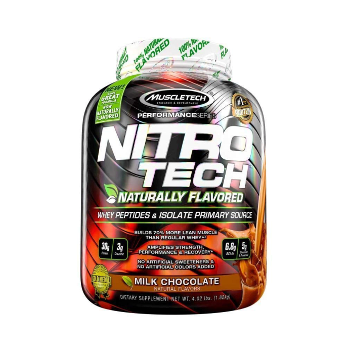 Muscletech Performance Series Nitro Tech Naturally Flavoured Milk Chocolate