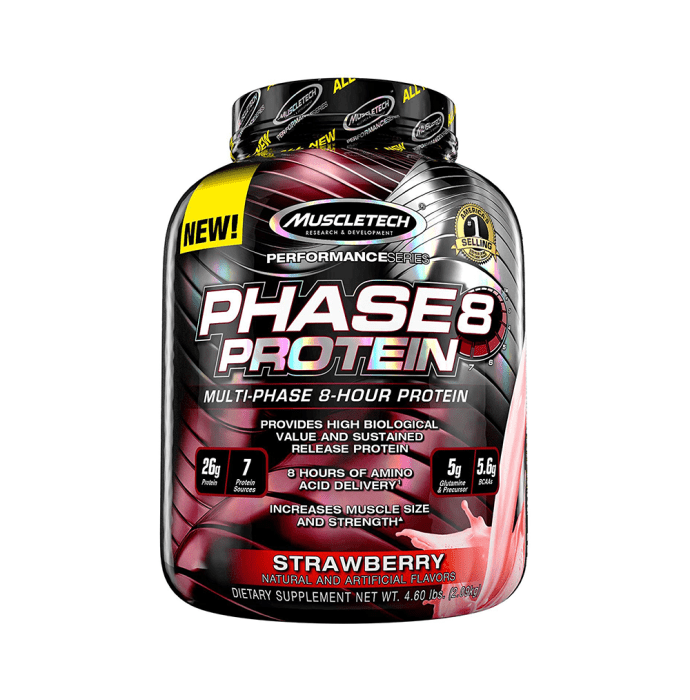 Muscletech Phase 8 Protein Strawberry
