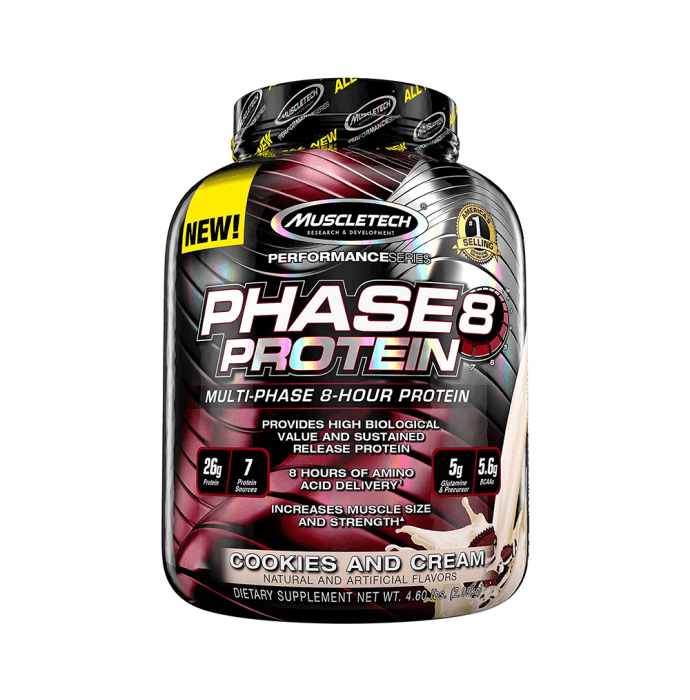 Muscletech Phase 8 Protein Cookies & Cream