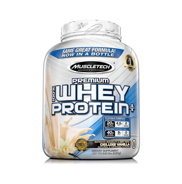 Muscletech Premium 100% Whey Protein Plus Deluxe Vanilla