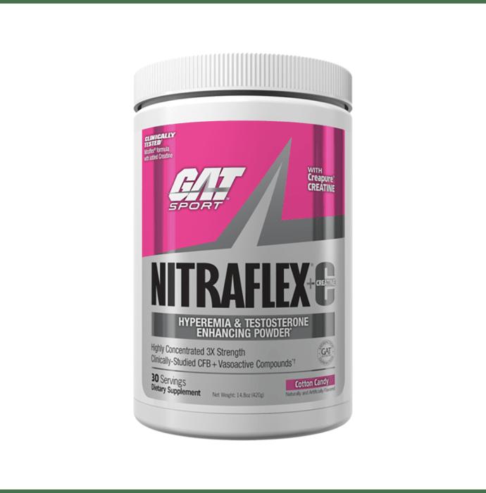 GAT Sport Nitraflex Plus C Powder Cotton Candy