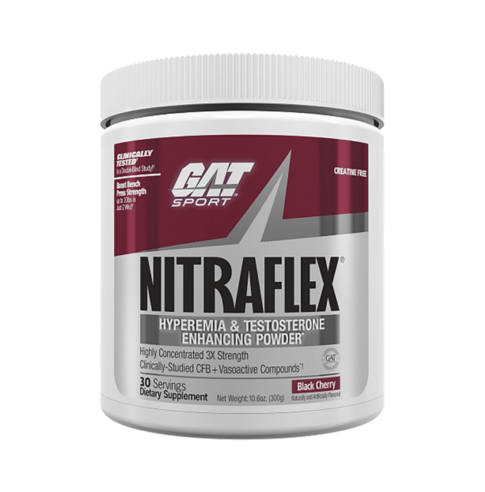 GAT Sport Nitraflex Powder Black Cherry