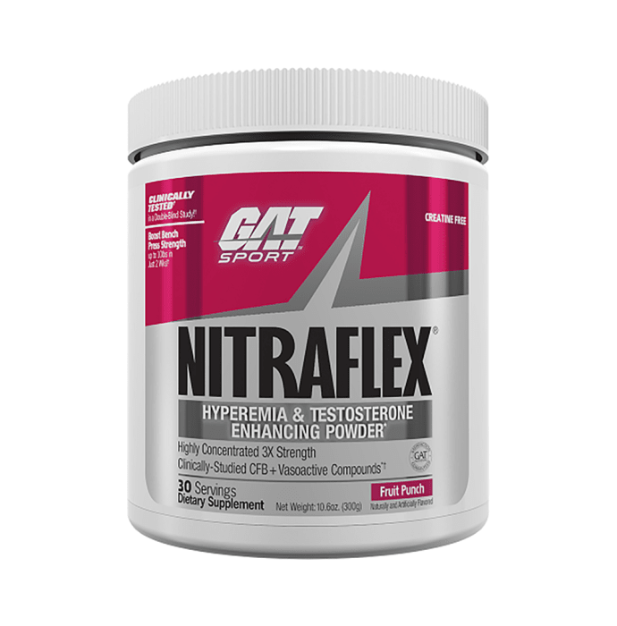 GAT Sport Nitraflex Powder Fruit Punch