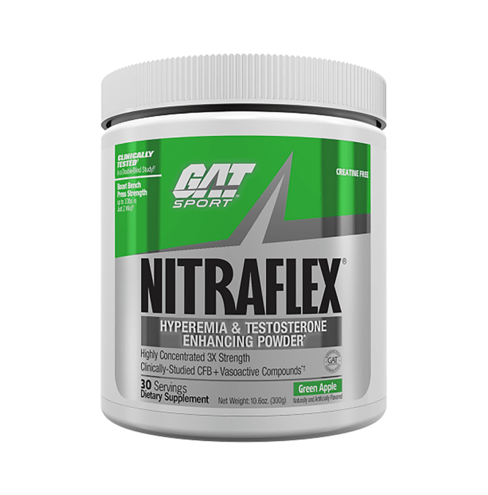 GAT Sport Nitraflex Powder Green Apple