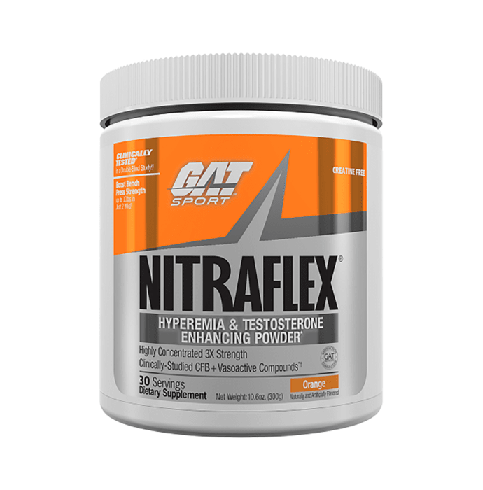 GAT Sport Nitraflex Powder Orange