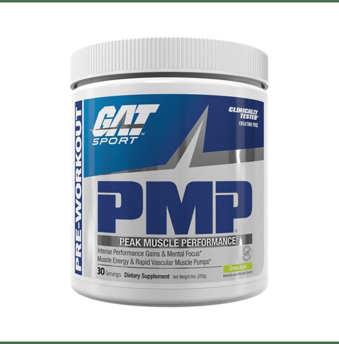 GAT Sport PMP Peak Muscle Performance Green Apple