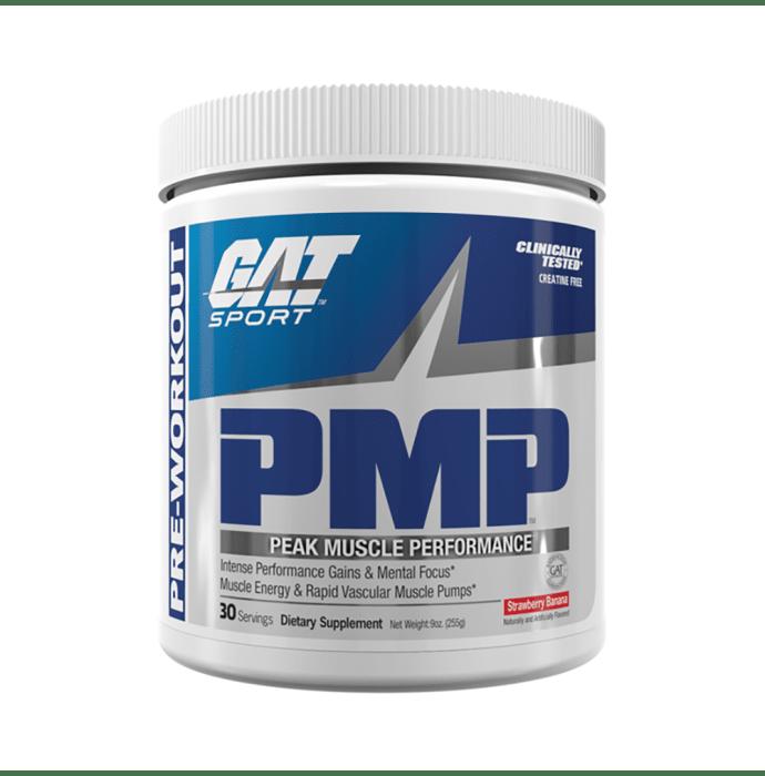 GAT Sport PMP Peak Muscle Performance Strawberry Banana