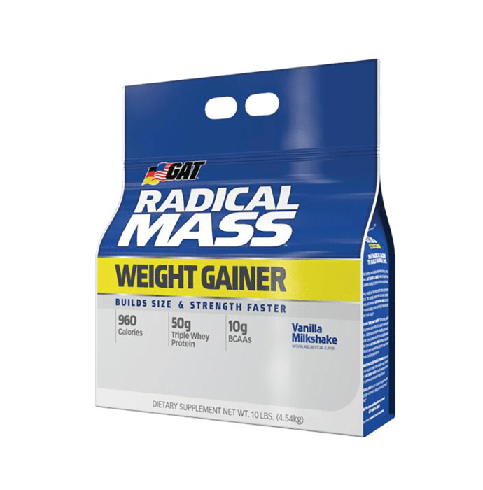 GAT Sport Radical Mass Weight Gainer Vanilla Milkshake