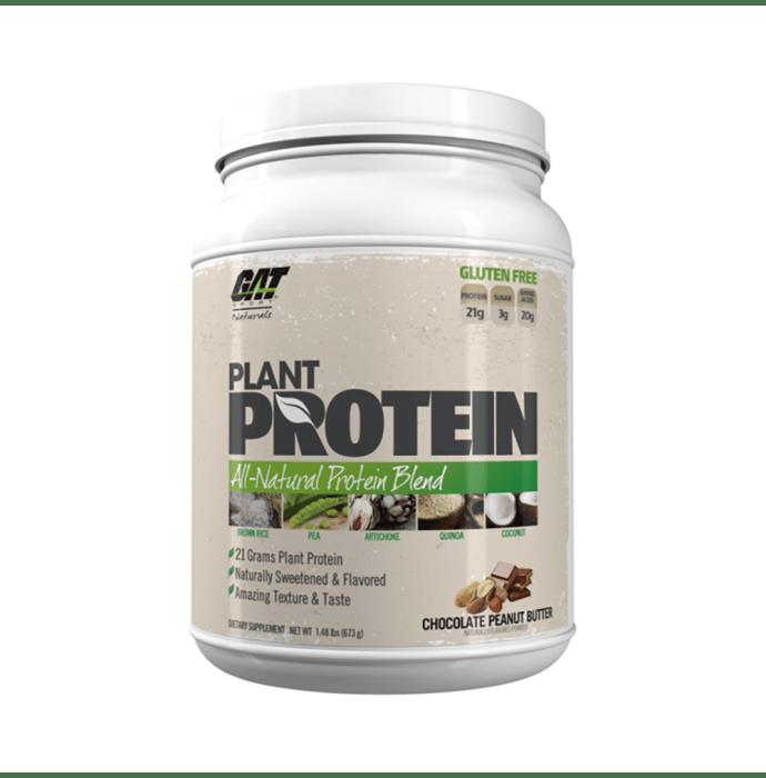 GAT Sport Plant Protein Powder Chocolate Peanut Butter