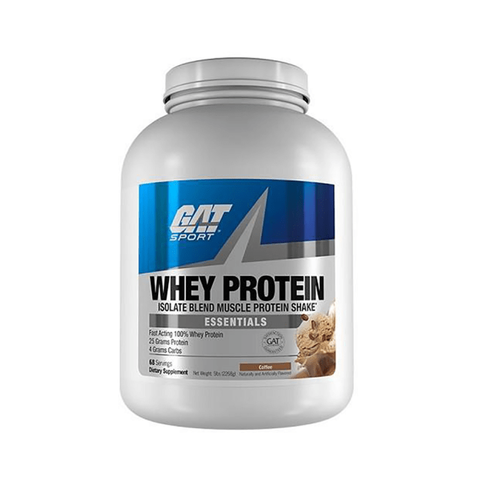 GAT Sport Whey Protein Powder Coffee