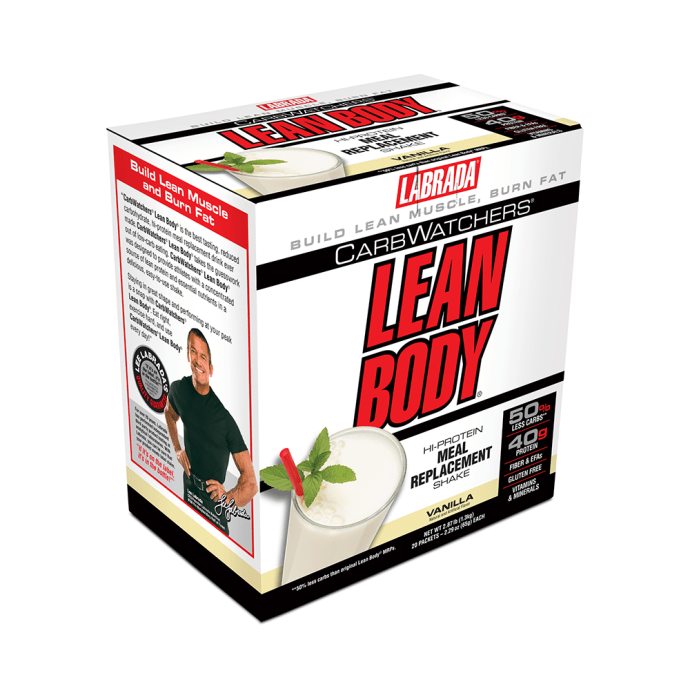 Labrada Nutrition Lean Body Carb Watchers Vanilla