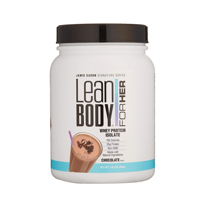 Labrada Nutrition Lean Body for Her Whey Protein Isolate Chocolate
