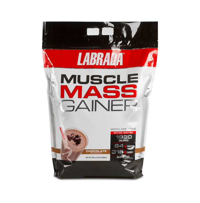 Labrada Nutrition Muscle Mass Gainer Chocolate