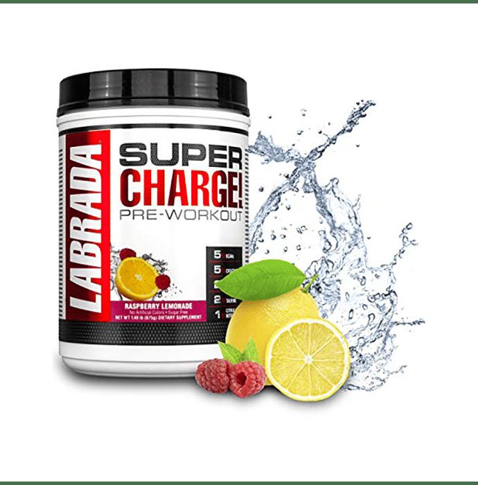 Labrada Nutrition Super Charge Pre-Workout Powder Raspberry Lemonade