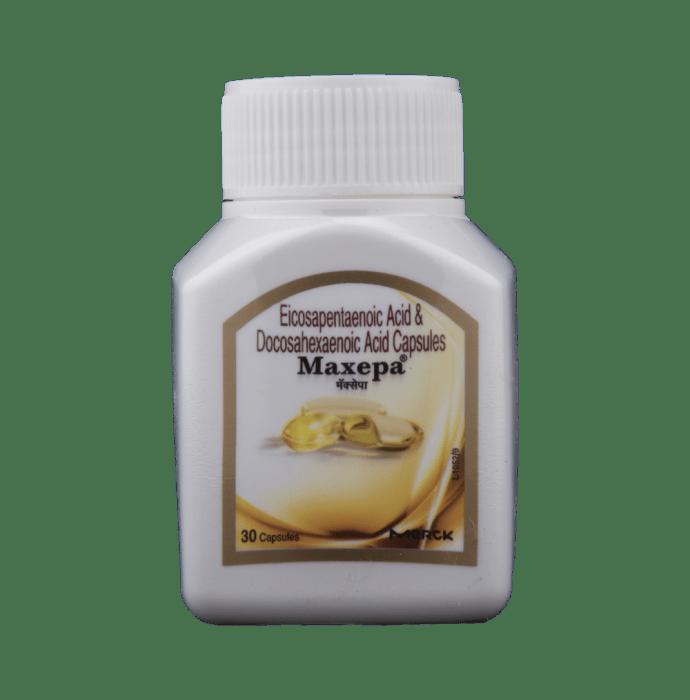 Maxepa Soft Gelatin Capsule