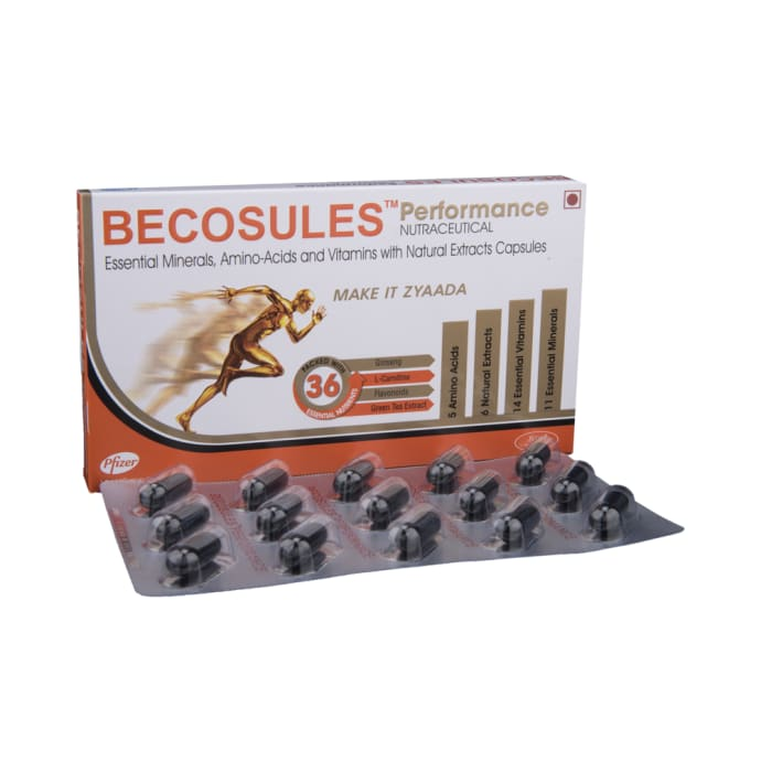Becosules Performance Capsule