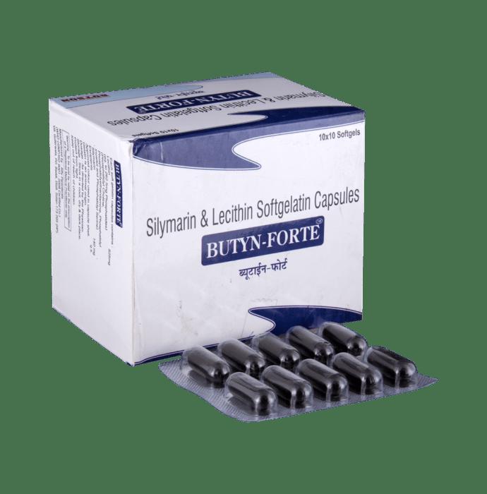 Butyn-Forte Soft Gelatin Capsule