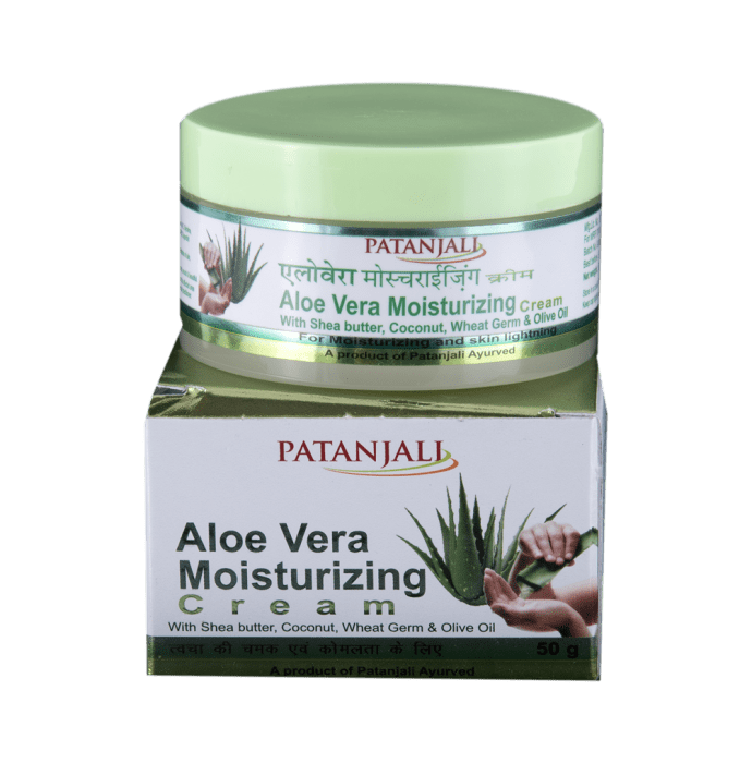 Patanjali Ayurveda Aloevera Moisturizing Cream