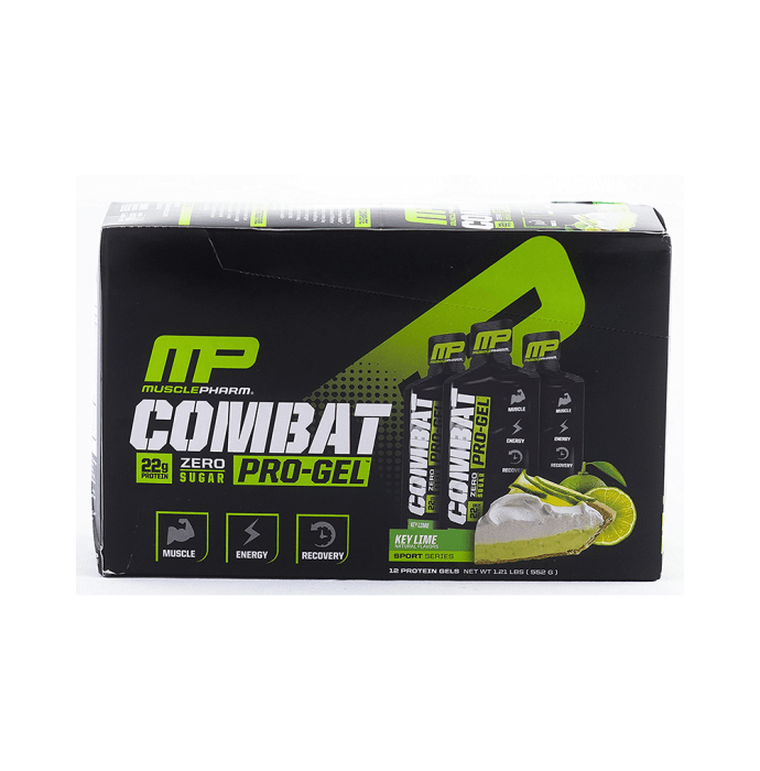 Muscle Pharm Combat Pro Gel Key Lime