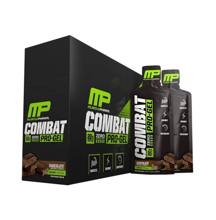 Muscle Pharm Combat Pro Gel Chocolate Milk Pack of 12