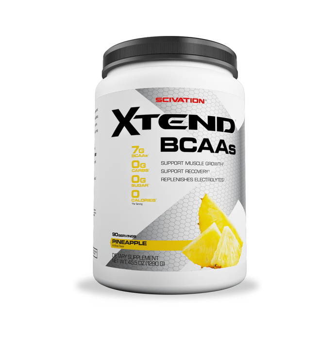 Scivation Xtend BCAA Powder Pineapple