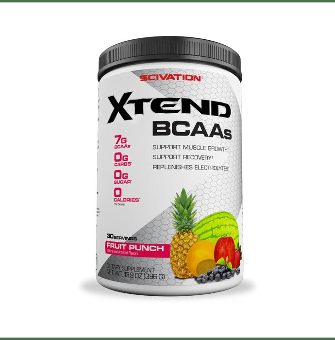 Scivation Xtend BCAA Powder Fruit Punch