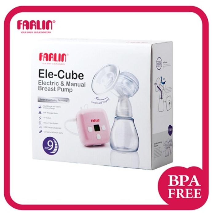 Farlin Ele- Cube Electric and Manual Breast Pump