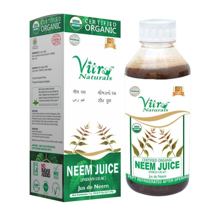 Vitro Naturals Certified Organic Neem Juice