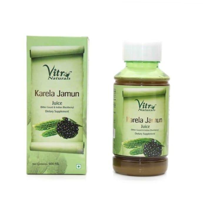 Vitro Naturals Karela Jamun Juice