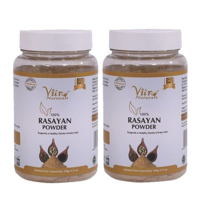 Vitro Naturals 100% Rasayan Powder Pack of 2