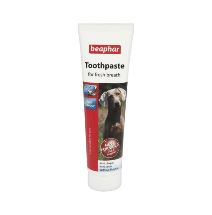 Beaphar Double Action Dog Toothpaste Liver Flavour