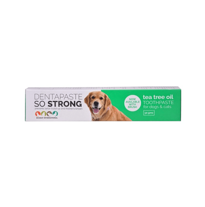 Tea Tree Oil Dentapaste Toothpaste for Dogs & Cats
