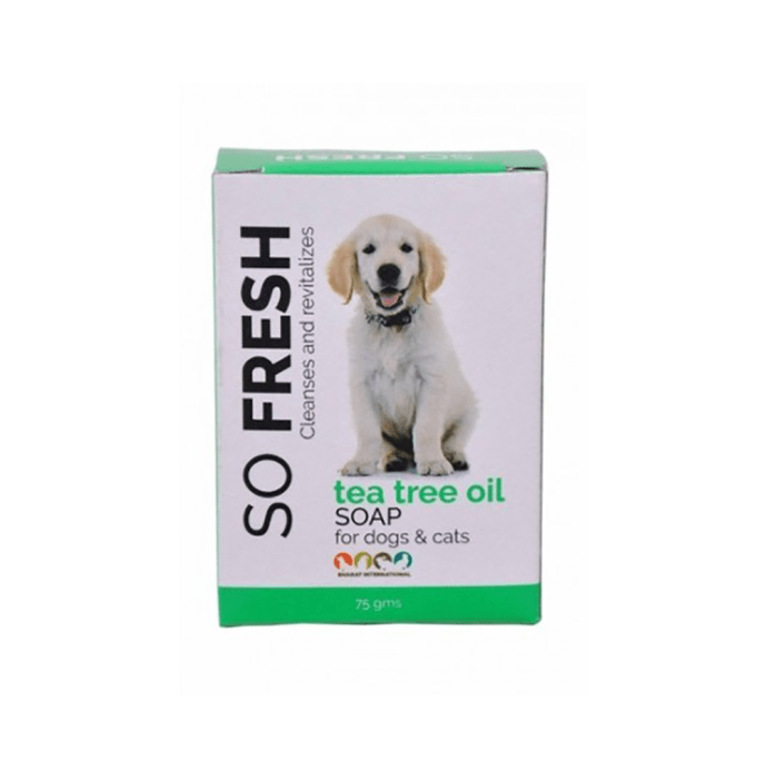 So Fresh Tea Tree Oil Soap for Dogs & Cats