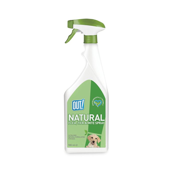 Out! Natural Flea and Tick Spray For Dogs